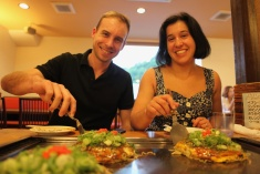 Hiroshima Style Okonomiyaki!