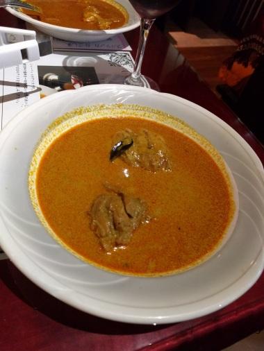 Chicken curry - not much chicken!