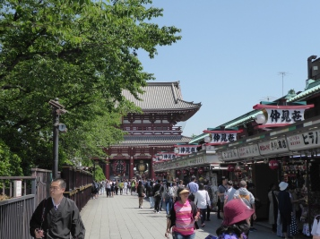 Sensoji Shrine and stalls