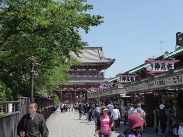 Sensoji Shrine and stalls