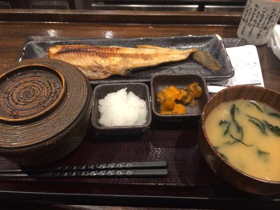 Shinpachi Shinkjuku meal Nick