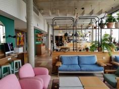 Penthouse lounge