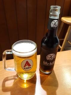 Beer and Kola at FalafeLAND