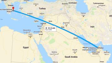 Dubai to Greece