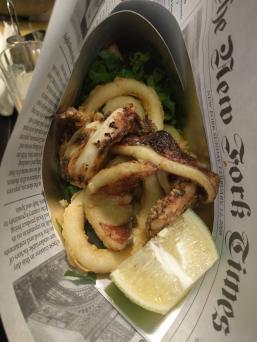 Calamari Cone