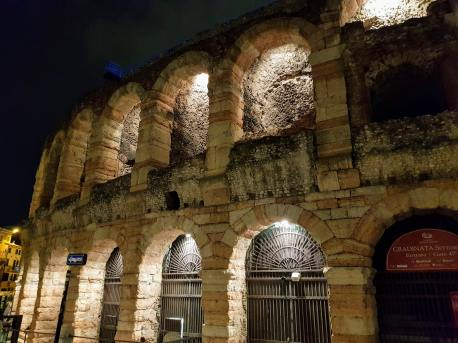 The Arena at night
