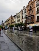 Rainy day in Seville